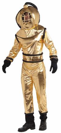 Deep Sea Diver Vuxen dräkt - roliga Costumes  de9a180c8934a