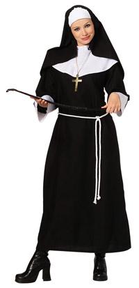halloween kostymer nunna