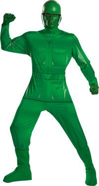 Deluxe Green Army mannen dräkten - vuxen Toy Story Costumes ...