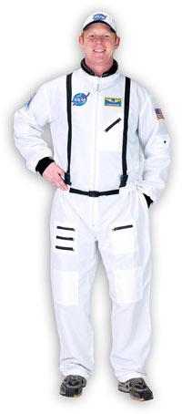 En vuxen Astronaut dräkt i vitt - Astronaut Costumes  557f30b2e2c16