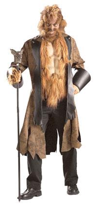 Läskigt Stora stygga vargen dräkt - En vuxen Costume  4fd93d83d9905