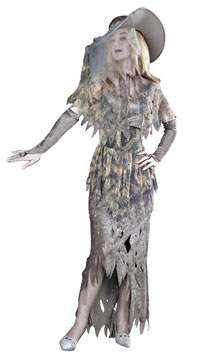 b4b5ee046fb0 Deluxe spöklika Gal Vuxen dräkt - Halloween Costumes | GalnaKostymer ...