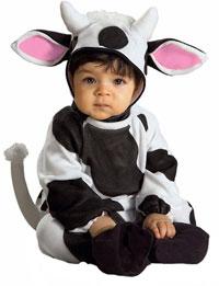 Mysiga Ko Baby dräkt - Baby Costumes  b2ac250c6910f