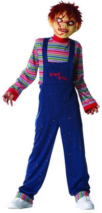 Ungar Chucky dräkten - läskiga Halloween Costumes  de9b191f3b9c3