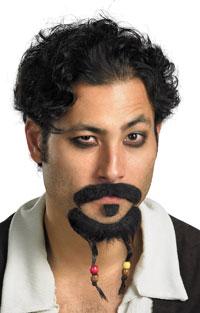 Pirater i Karibien Bockskägg och mustasch - Äkta pirater i Karibien Costume  Accessories 9879afe98641b