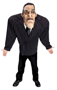 Biffig kroppsbyggare Scarface Costume ungar - läskiga Costumes ... ff6fca20f3016
