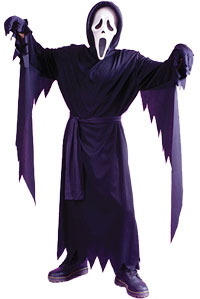0cddfc0b10ed Läskigt Ghost Face barn dräkt - läskiga Costumes | GalnaKostymer.se ...