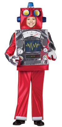 Barn Retro Robot dräkt - Robot Costumes  9fb73d324d39b