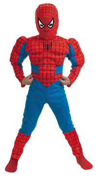 Muskel Brost Spiderman Drakt Spiderman Costumes