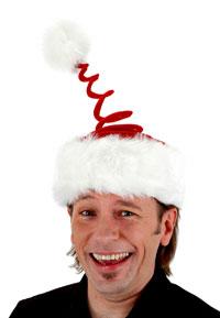 Spänstig Santa Hat - Jul Costumes  e16b78b5d2ae3