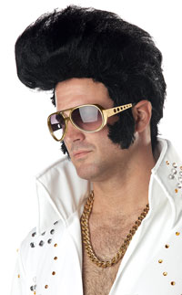 Black Rock n' Roll peruk - Costume Wigs