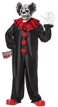 Skratta sist det clownen dräkt - läskigt Costumes  00e280fb02b2f