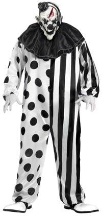 En vuxen Killer Clown dräkten - läskiga Costumes  1ef4bf895ccb1