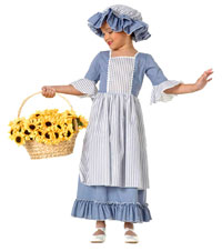 Koloniala Girl Costume - Colonial Costumes
