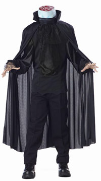 Läskigt huvudlöse Ryttaren ungar dräkten - läskiga Costumes d563cf9db60b5