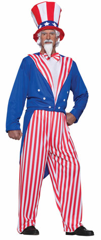 Uncle Sam Plus Size dräkten - Plus Size Costumes