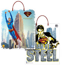 """Stålmannen"" -Trick or Treat Bag - Superman Costume Accessories"