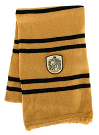 Hufflepuff halsduk för barn eller vuxna - Harry Potter Costume Accessories