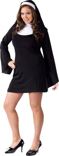 Plus Size Naughty nunna dräkt - sexiga Costumes 4ff8f5a4e13a2