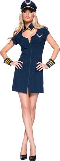 Kära flygkapten sexiga dräkt - sexiga Costumes 56685cc8832ab