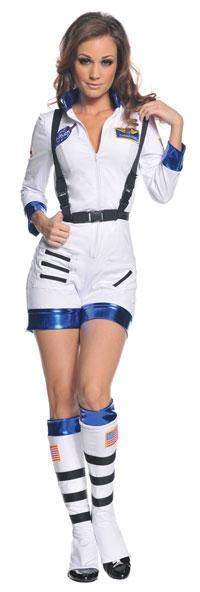 Sexig vit Astronaut dräkt - Halloween Costumes a41dfa59d4bc5