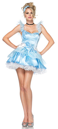 Storybook Babe Princess Cincerella dräkten - Princess Costumes
