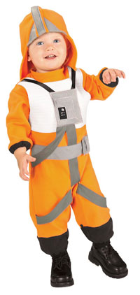 X-Wing Fighter Pilot Baby dräkt - Star Wars Costumes 1e809c39aa260