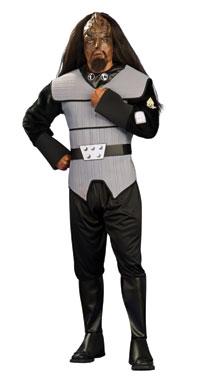 Deluxe Vuxen Klingon Star Trek kostym - Star Trek Costumes c559953fbccae