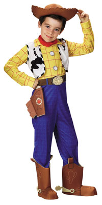 Deluxe-Woody Cowboys dräkten - Toy Story Costumes