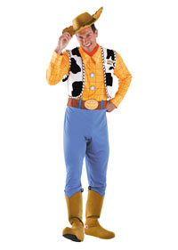 Deluxe-Toy Story Woody Vuxen dräkt - Toy Story Costumes