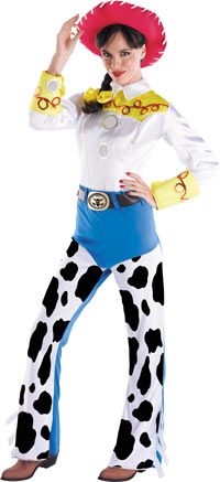 Deluxe Toy Story Jessie Vuxen dräkt - Toy Story Costumes