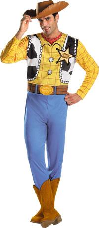Woody Vuxen dräkt - Toy Story Costumes b041a32913ae2
