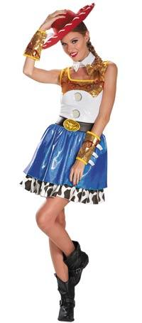 Jessie Glam Vuxen dräkt - Toy Story Costumes 0071151bca1a1