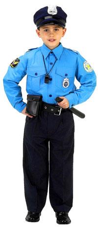 Jr. polis barn dräkt - polisen Costumes b2f0c851504c8