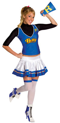 Archie Comics Betty dräkten - Archie Comics Costumes