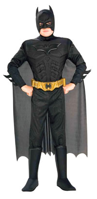 Deluxe ungar Batman dräkt - Batman Costumes