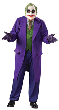 Deluxe-Vuxen The Joker dräkten - Batman Costumes