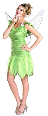 En vuxen Tinkerbell dräkt - Disney Costumes c4147854755cd