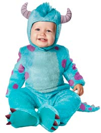 Sulley klassiska Baby dräkt - Halloween Costumes