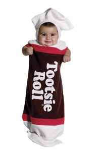 Tootsie Roll Baby dräkt - Baby Costumes