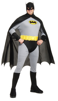 Plus Size Batman dräkt - Batman Costumes
