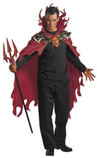 Devil Cape - Halloween Costume Accessories