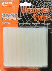 Klart Webcaster pinnar - Spider Web - Spider Web Accessories