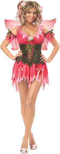 Rose Fairy dräkt - Fairy Costumes