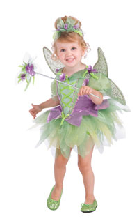 Toddler Tinkerbell dräkt - Fairy Costumes