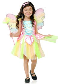 Toddler Rainbow prinsessan Fairy dräkt - Fairy Costumes