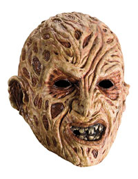 Vuxna Freddy Vinyl Mask - EN Nightmare on Elm Street Costumes