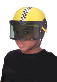 Kids Race Car Driver hjälm - Costume Hats