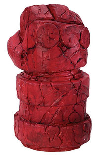 Hellboy hand och arm - Hellboy Costume Accessory