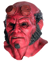 Hellboy Deluxe Oh Latex Mask - Hellboy Costumes
